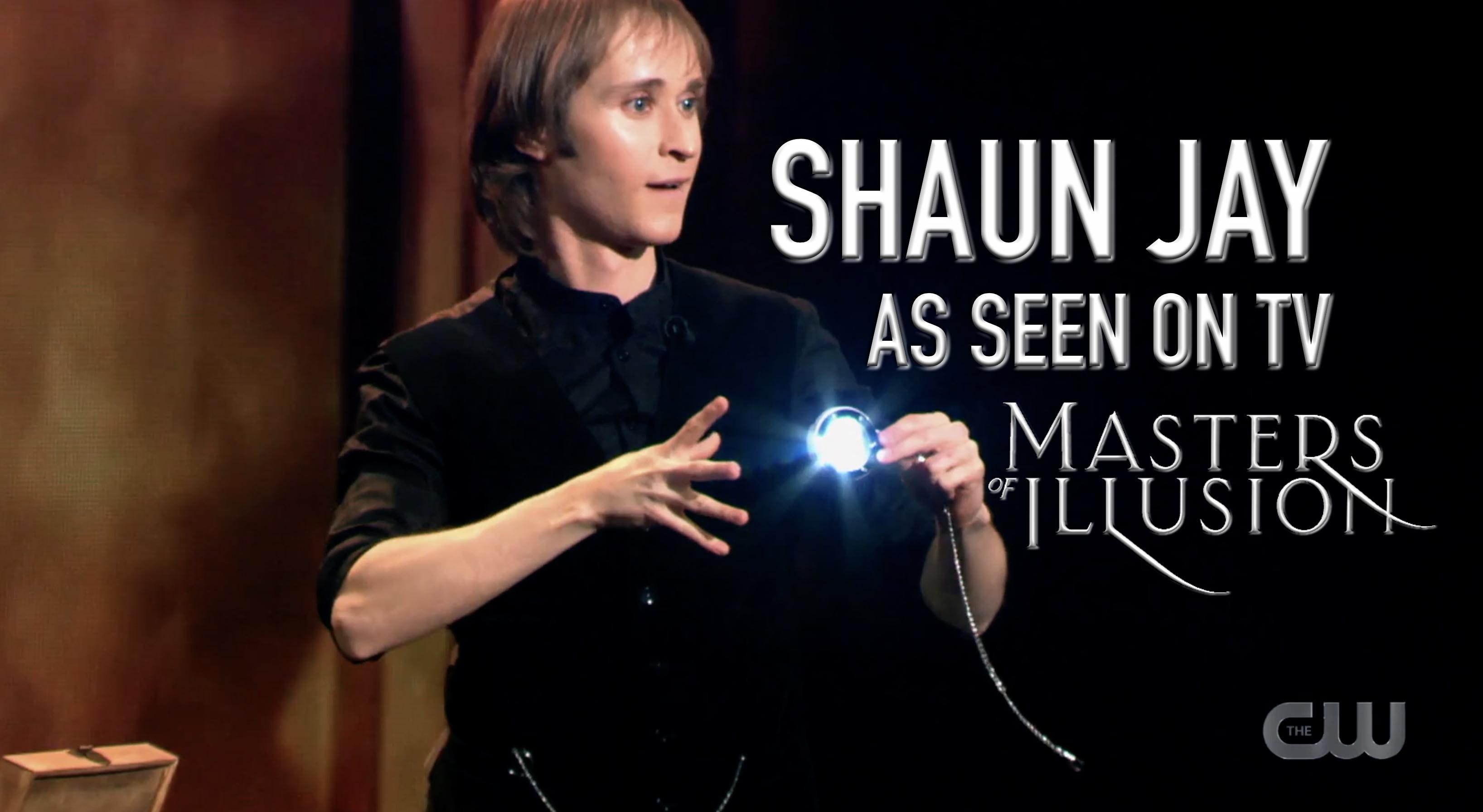 Shaun Jay as seen on Masters of Illusion