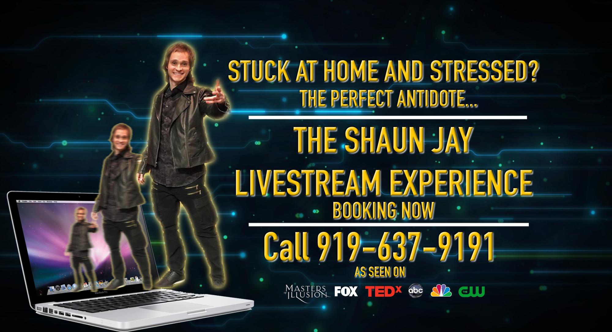 livestream magic show