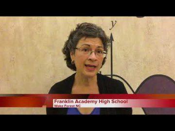 Video Testimonial: Franklin Academy High School Wake Forest N.C.